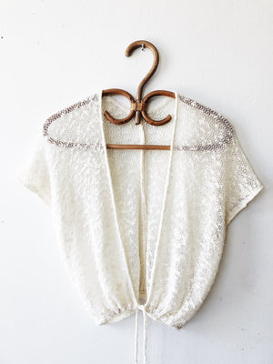 Vintage Sheer Knit Jacket