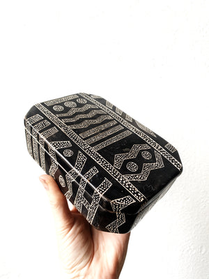 Vintage African Soapstone Box