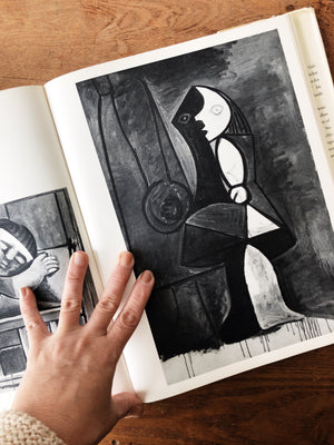 Vintage Picasso's World of Children Art Book