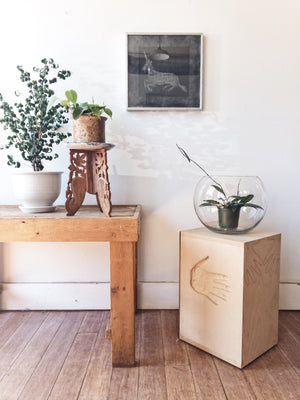 Handmade Ply Plant Stand / Table
