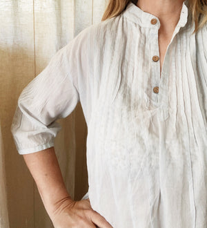 Cargo Lightweight Cotton Tunic