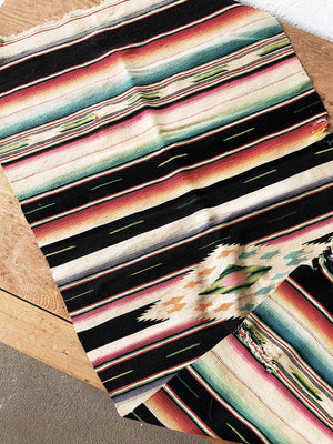 Vintage Wool Saltillo Runner