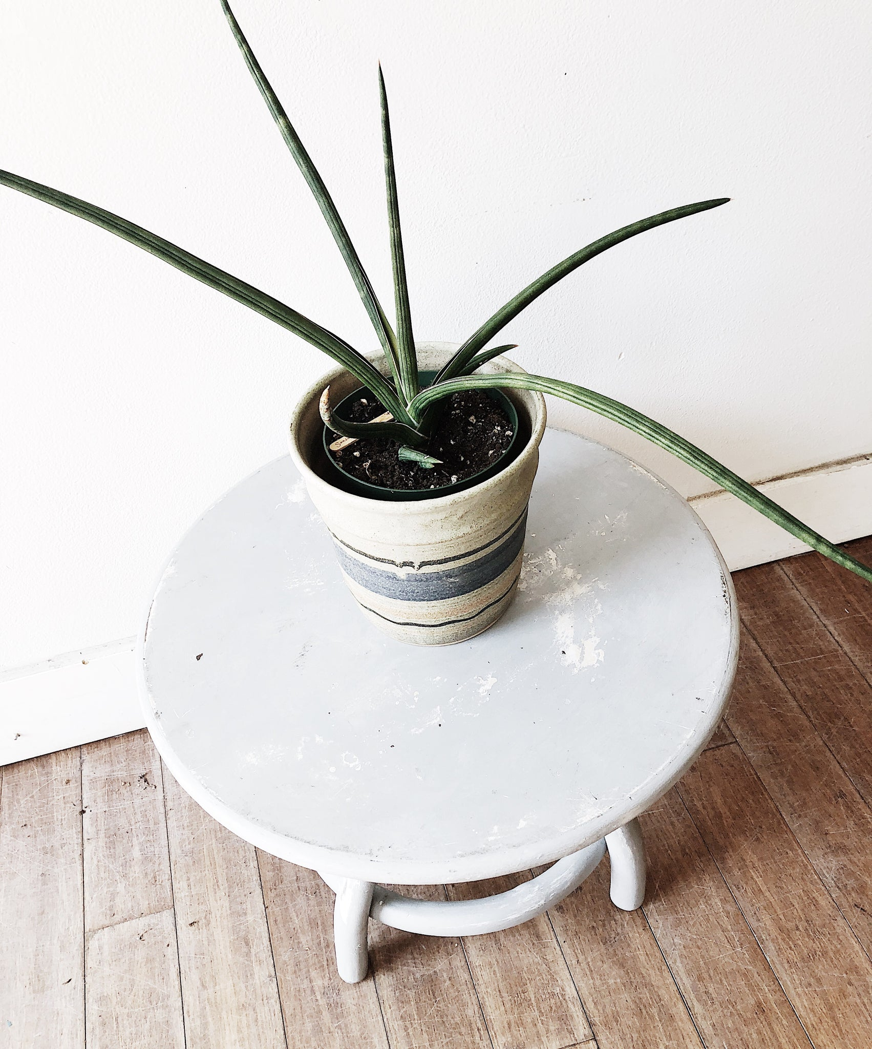Vintage Bentwood Side Table