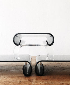 Vintage Clear Lucite Stand