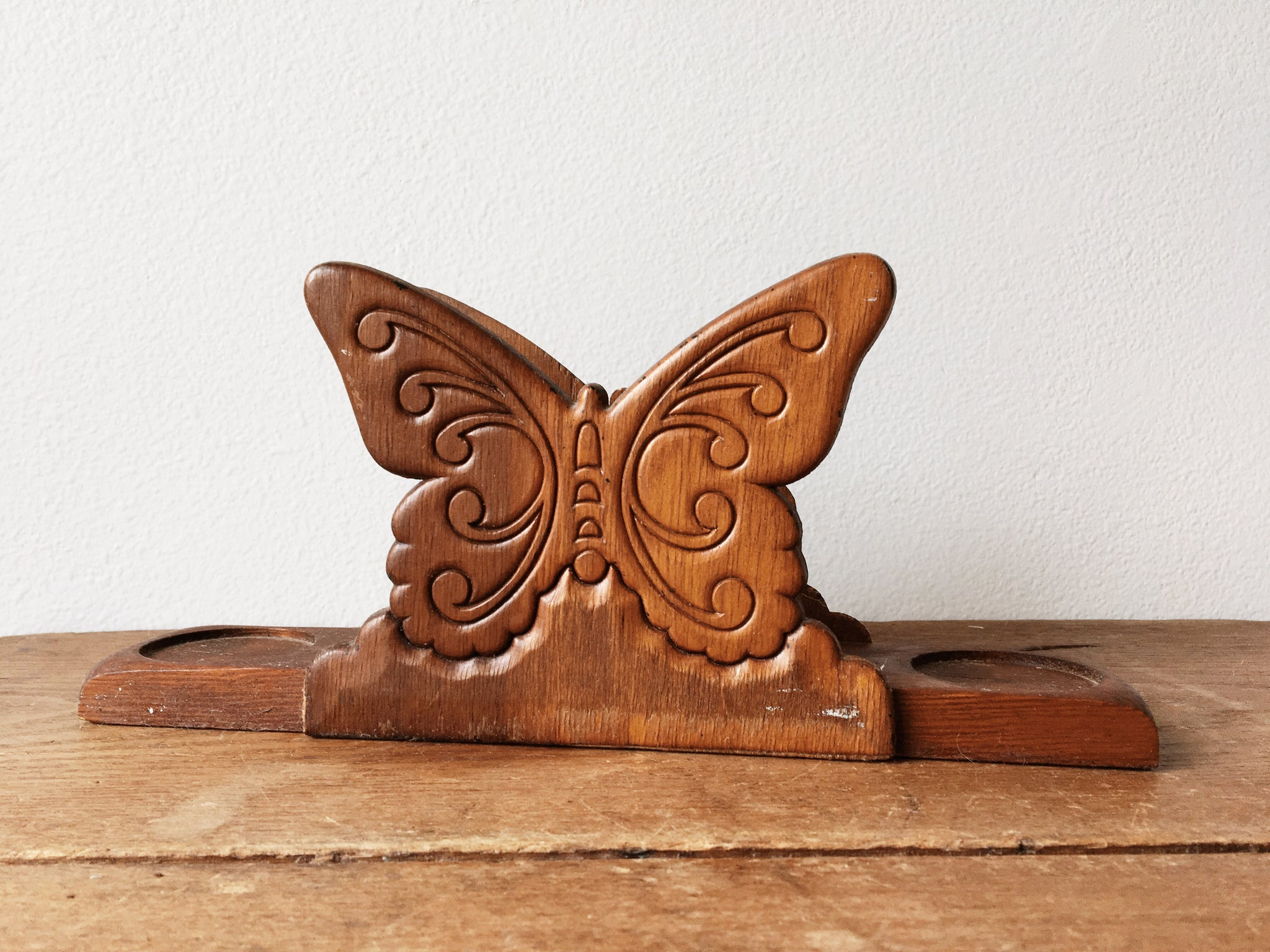 Vintage Butterfly Napkin Holder
