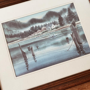 Vintage 'House on The Siuslaw' Mel Vincent Litho