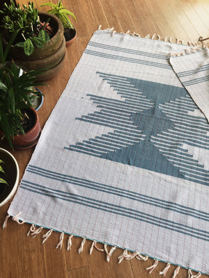 Handwoven Rug from The Joinery NYC