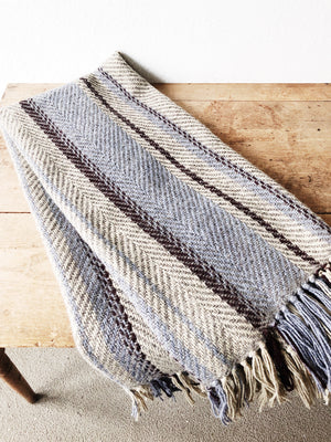 Handmade Irish Wool Throw
