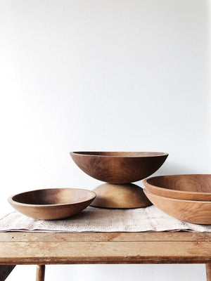 Antique Dough Bowls