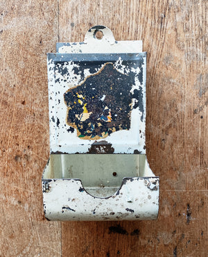 Antique Tin Dispenser