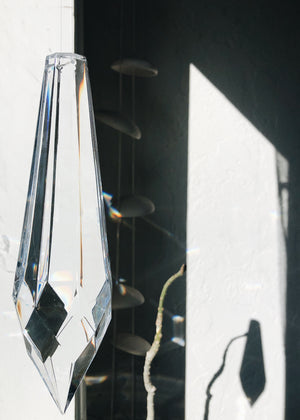 Giant Crystal Suncatcher