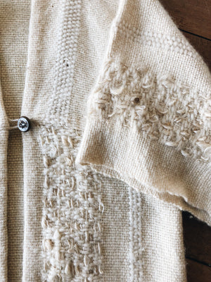 Hand Knit Vintage Wool Sweater