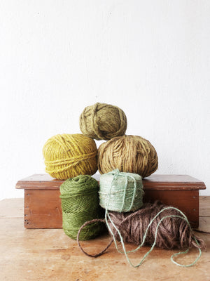 Vegetable Dyed Jute Collection