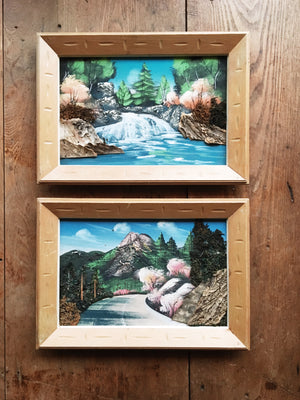 Vintage Framed Landscape Paintings