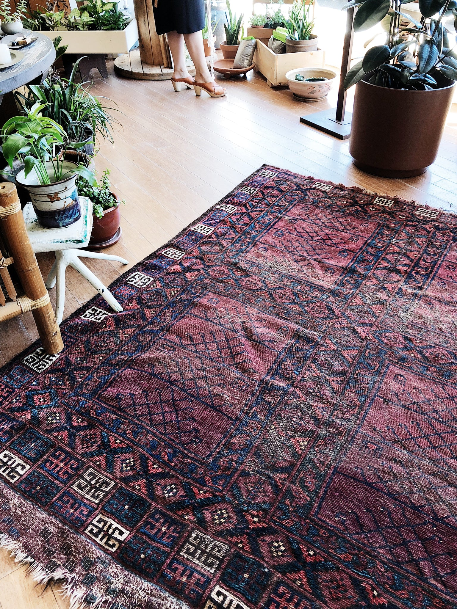 Antique Turkish Wool Rug