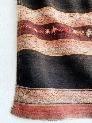 Vintage Handwoven Wool textile