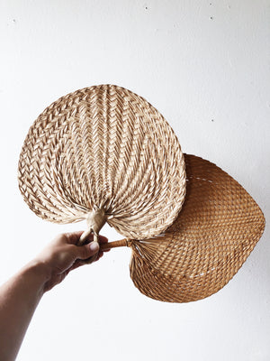 Pair of Woven Fans