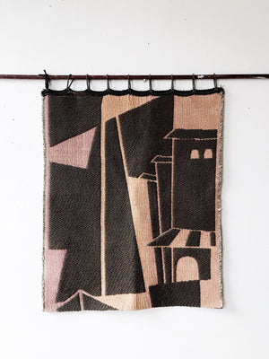 Vintage Modernist Weaving