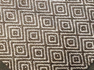 Wool Sisal Diamond Rug
