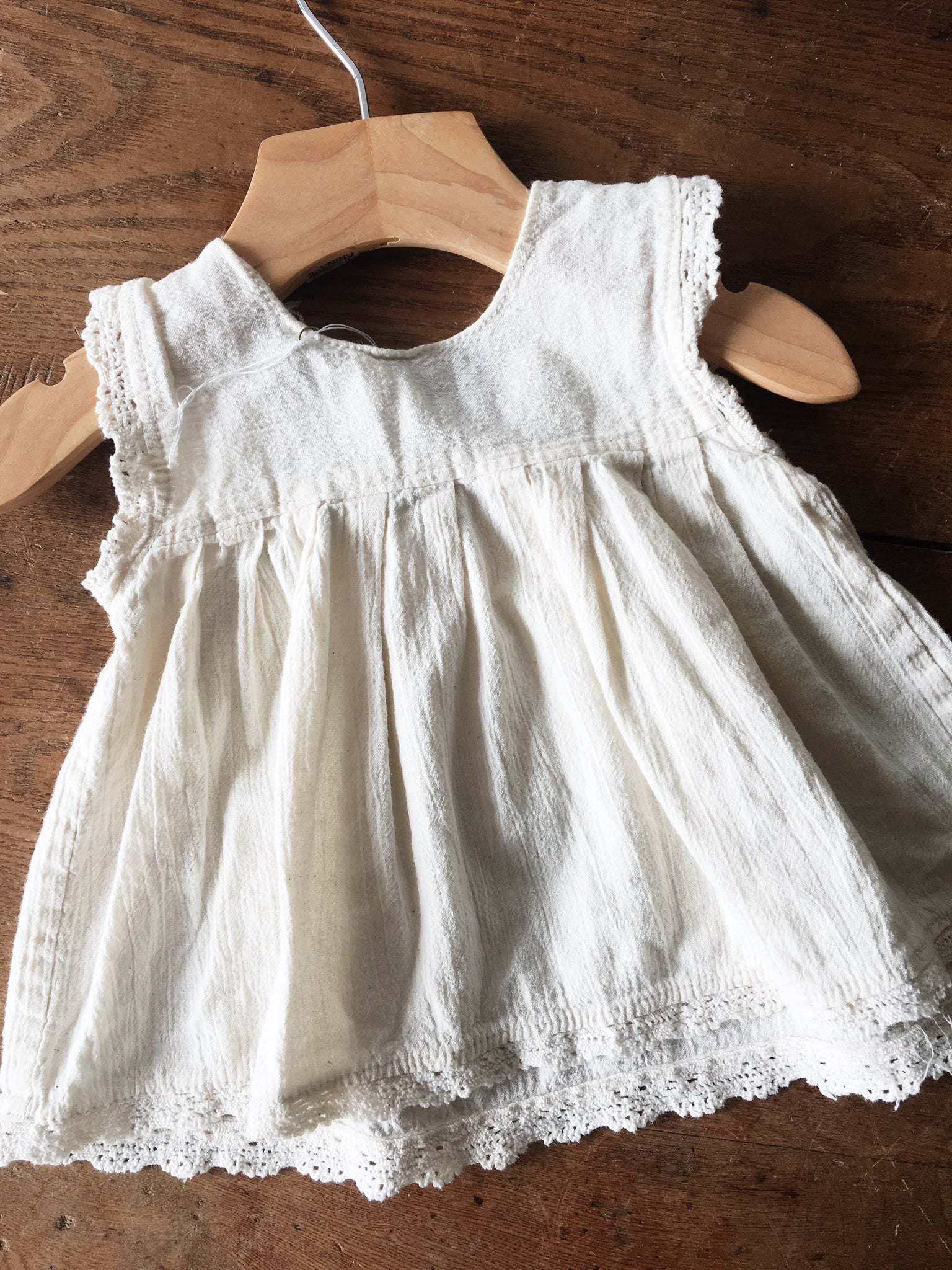 Vintage Embroidered Baby Tunic