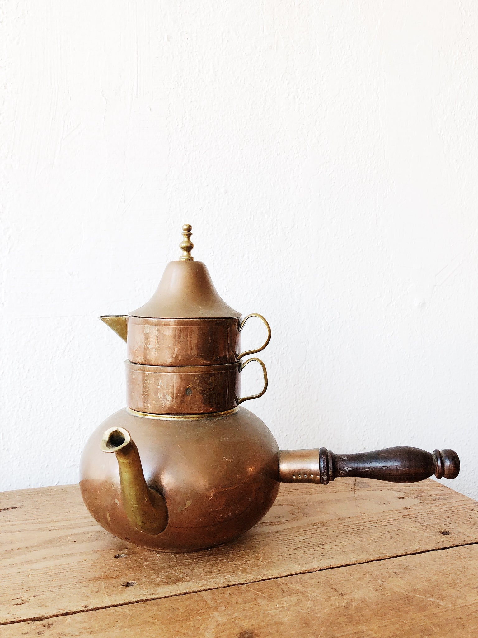 Vintage Copper Turkish Coffee Server