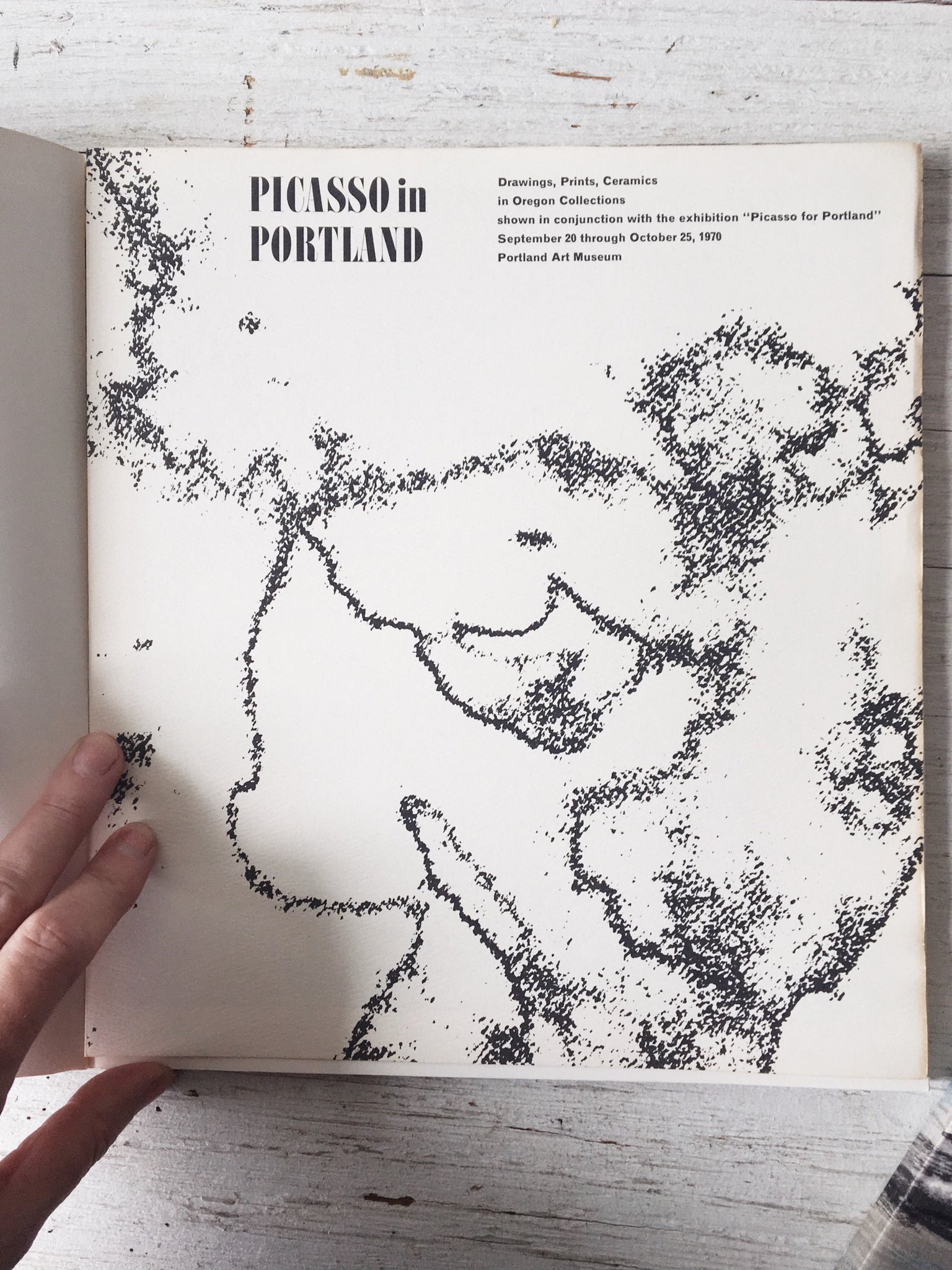 Vintage Picasso For Portland Book