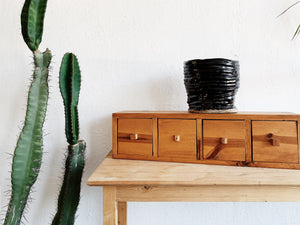 Unfinished Pine Console Table