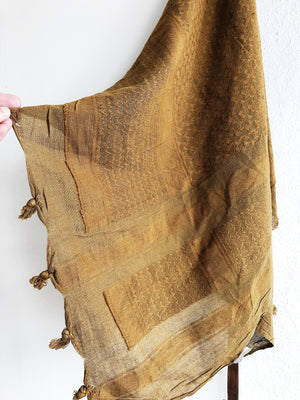 Large Handwoven Indian Scarf