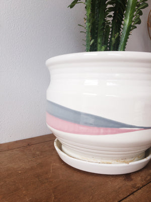 Vintage Ceramic Tray Pot
