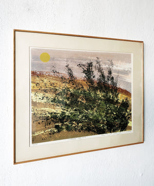 Original Howard Bradford Serigraph