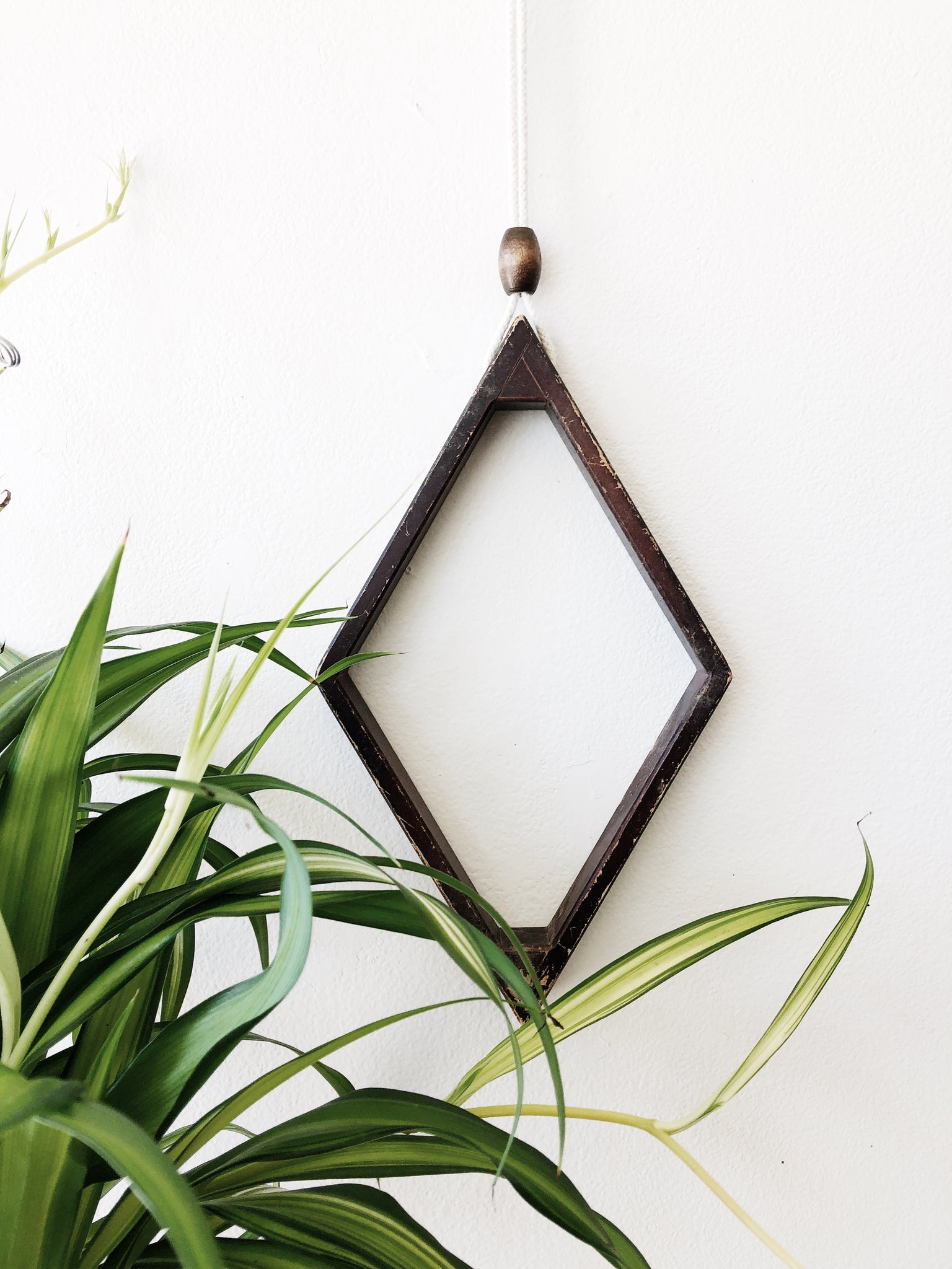 Wooden Wall Pendant