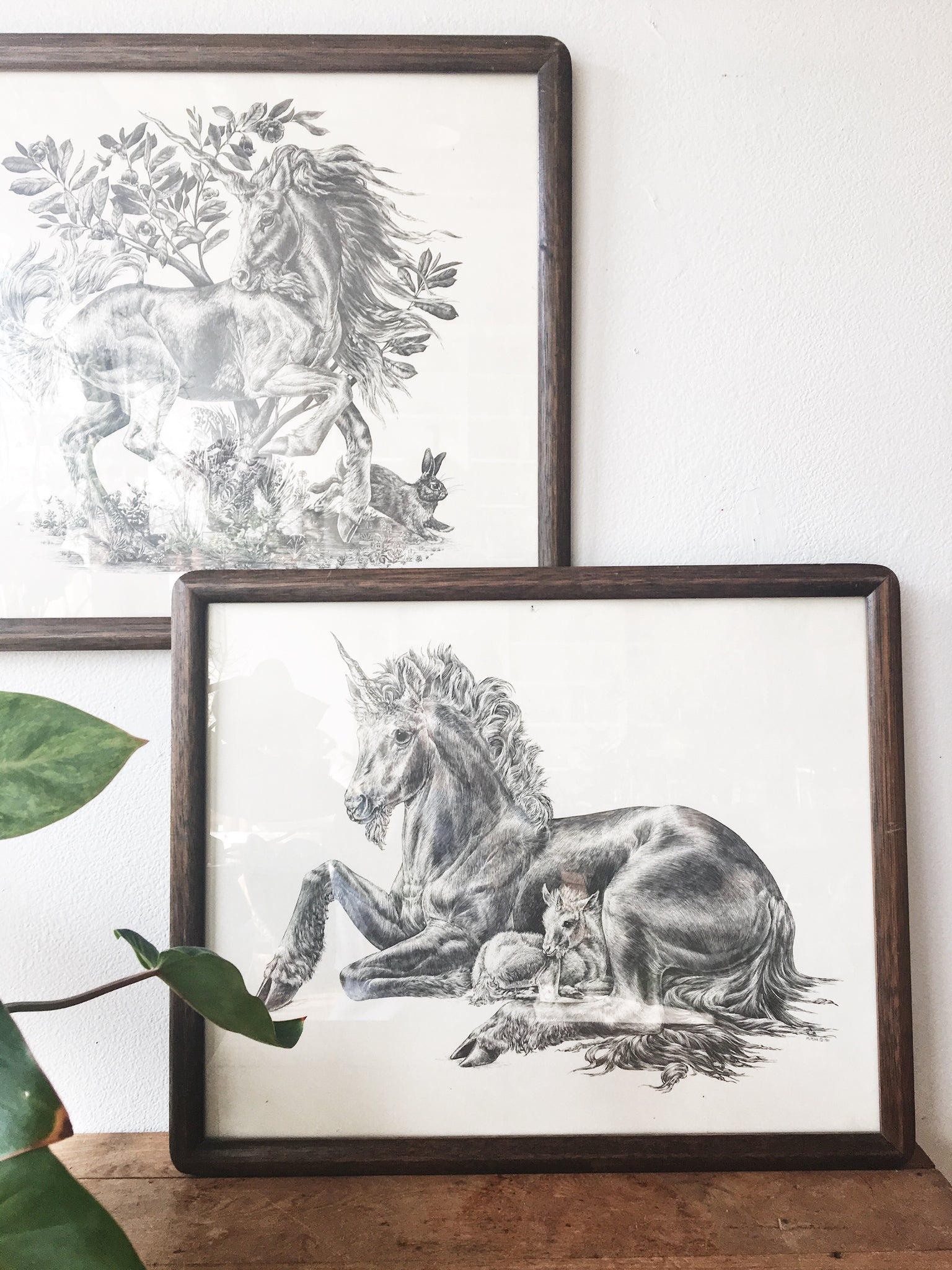 Vintage Unicorn Prints