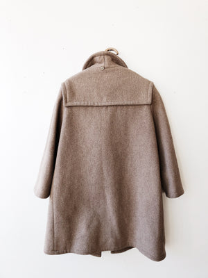 Vintage Wool Duffle Coat