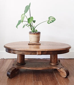 Antique Oak Coffee Table