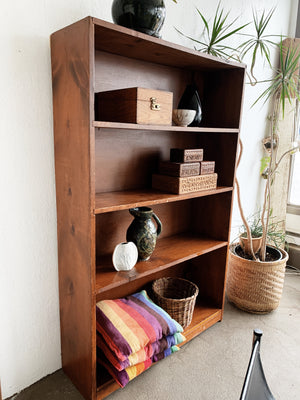 Large Handmade Solid Wood Shelf
