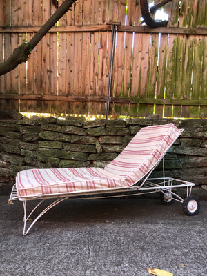 Mid Century Homecrest Chaise Lounge