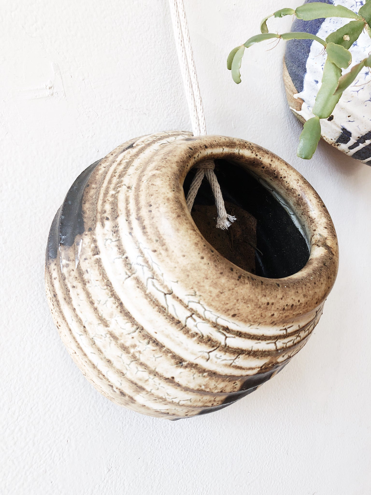 Vintage Ceramic Wall Planter