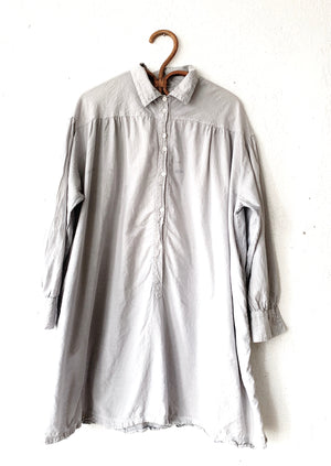 Auntie Oti Cotton Khadi 'Big Shirt' With Pockets