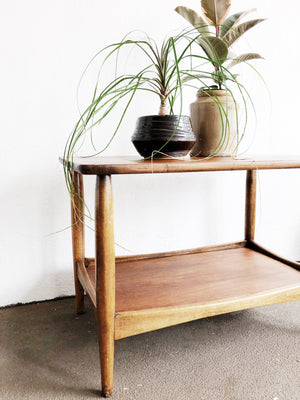Mid Century Two Tiered Table