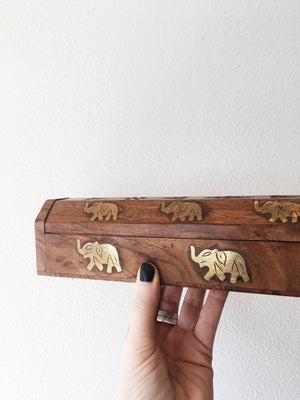 Deluxe Wood Incense Holder