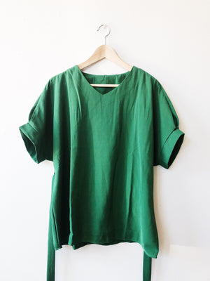 Loose Fit Emerald Green Top