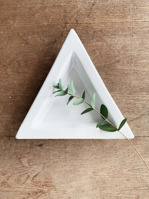 Ceramic Triangle Dish