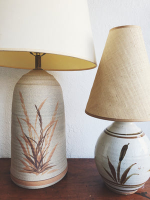 Vintage California Pottery Lamp