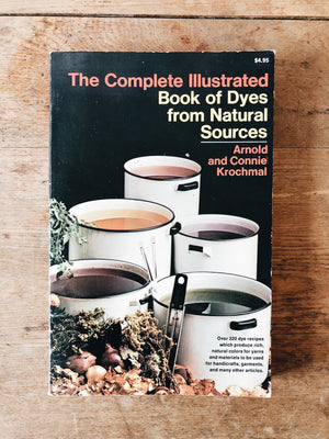 Vintage 1970s Natural Dyes Book