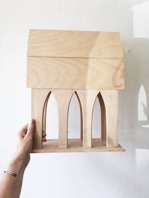 Handmade Plywood House