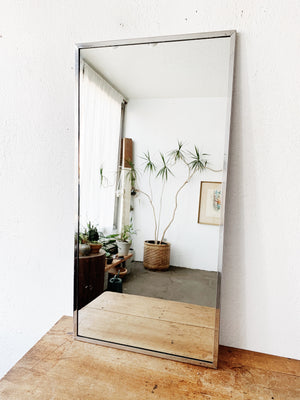 Vintage Industrial Mirror