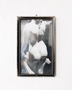 Vintage Framed Nude Photograph