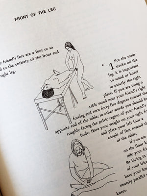Vintage 1970s Massage Book