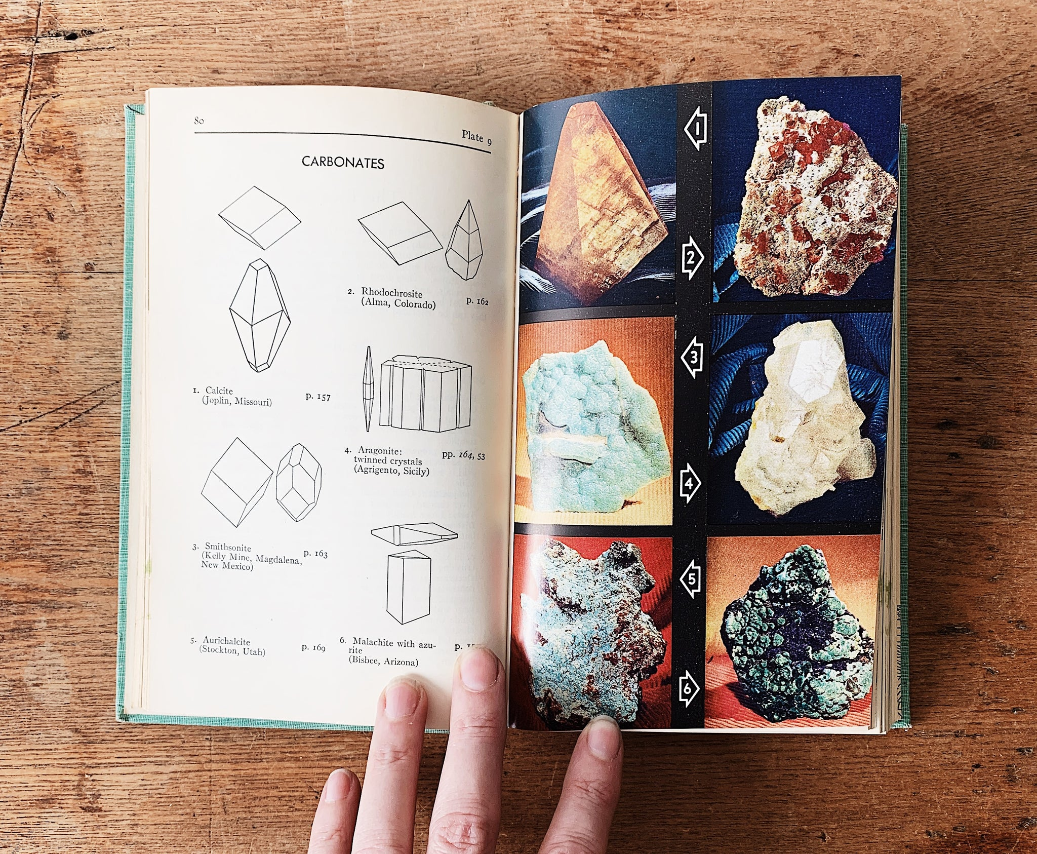 Vintage Field Guide to Rocks and Minerals