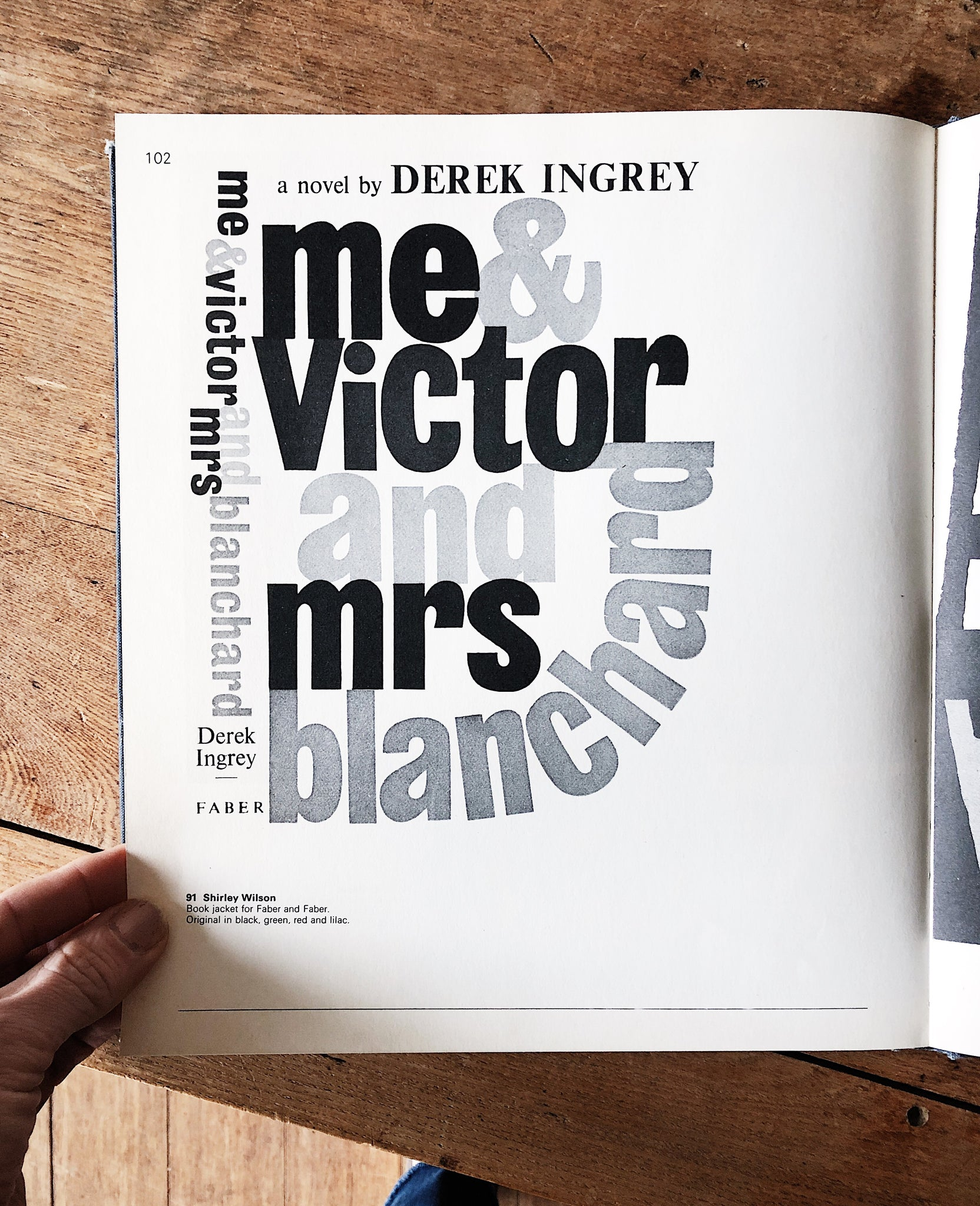 Vintage Lettering Today 1960s Font and Signage Book